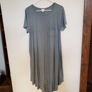 Gray Carly Swing Dress